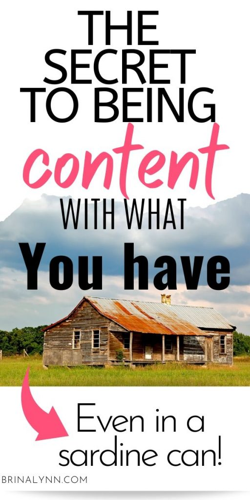 The Secret to Being Content with what you have _ Even in a sardine can!