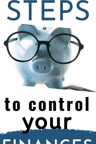 First Steps to get control of your finances