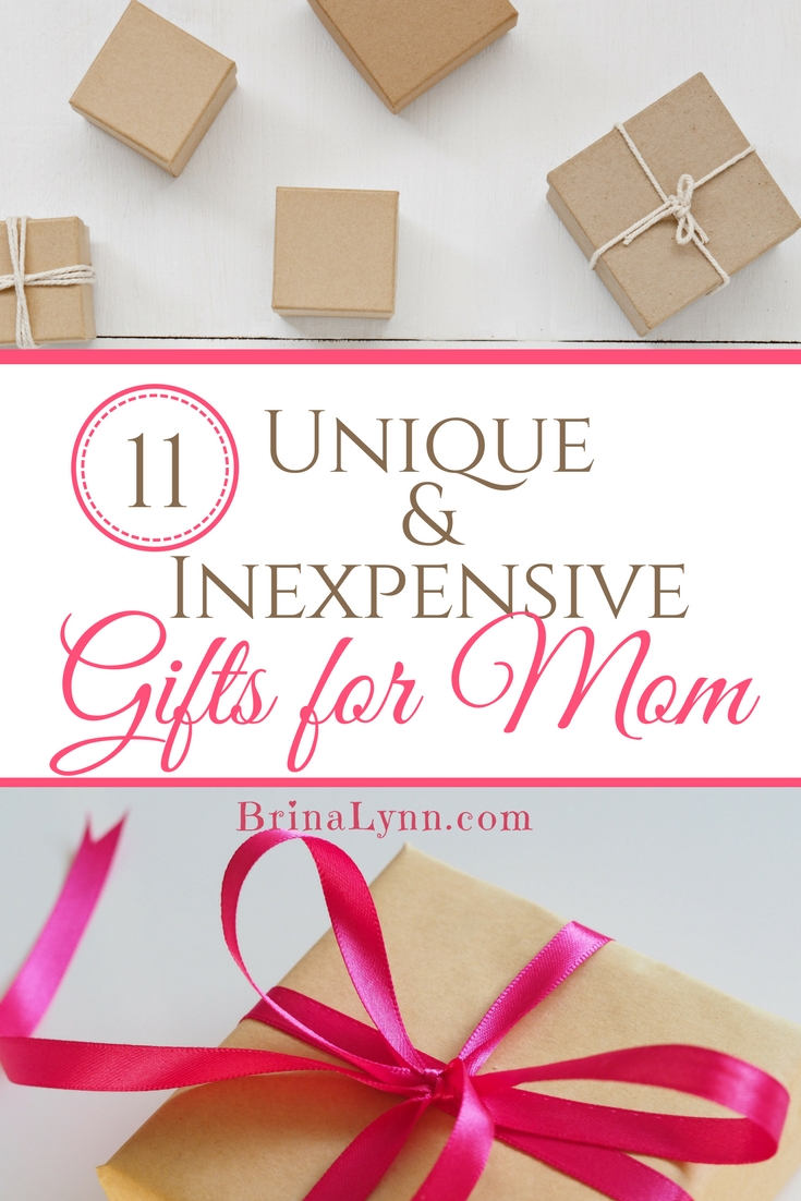 11 Unique & Inexpensive Non Gift Card Gifts for Mom