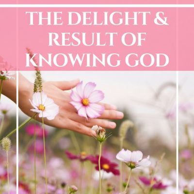 Josiah's Blessings ~ The Delight & Reward of Knowing God