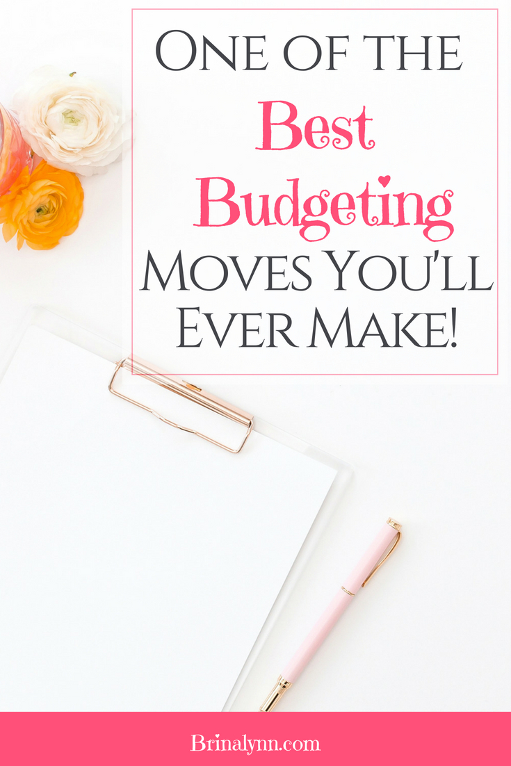 One of the Best Budgeting Moves You Will Ever Make