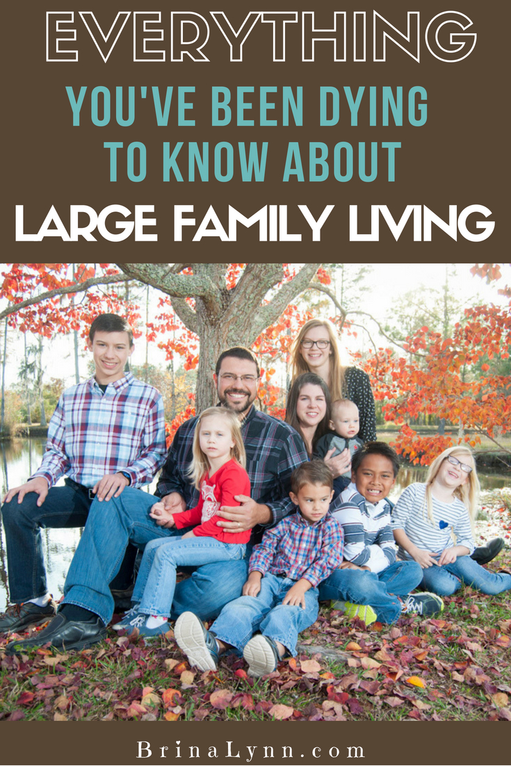 Everything You've Been Dying to Know About Large Family Living ~ Part 1