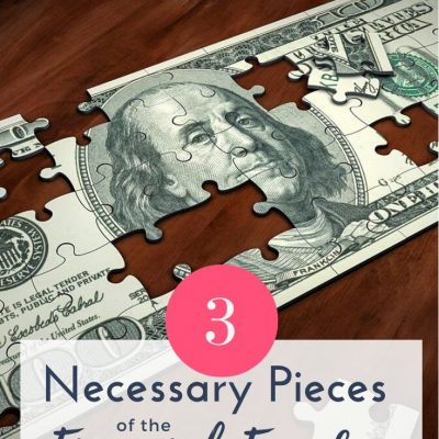 3 Necessary Pieces for Financial Freedom