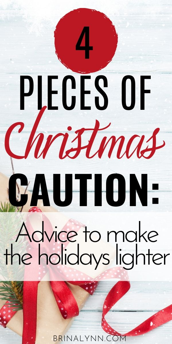4 Things to Remember heading into the Christmas Season