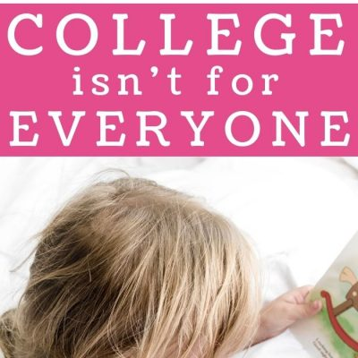College isn't for Everyone With 5 Reasons Why