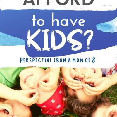 Affording to Have Kids – Can you Swing it?
