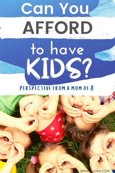 Can You Afford to Have Kids?