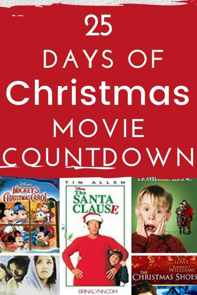 25 Days of Christmas Movies Countdown
