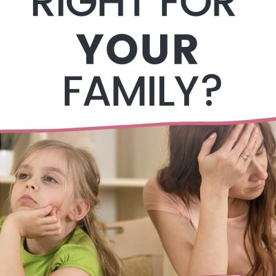 Homeschooling: Is it Right for YOUR Family?