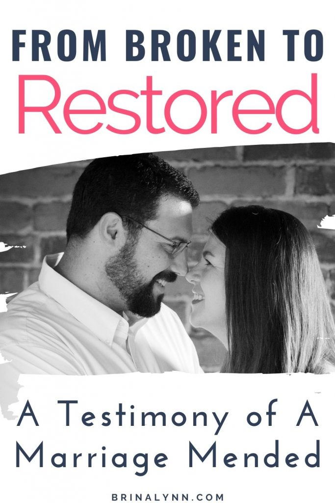 From Broken to Restored Our Testimony of a Mended Marriage